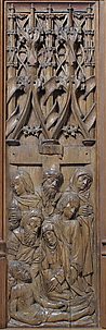 Panel with the Lamentation