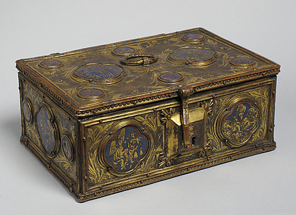 Box with Enamel Plaques