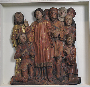 Relief of Saint Lawrence Presenting the Poor