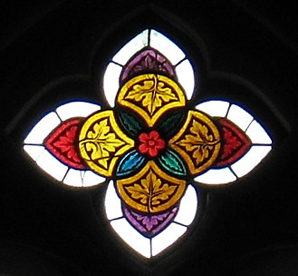 Quatrefoil-shaped Tracery Light
