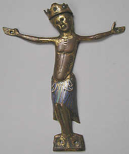Appliqu Figure of Christ