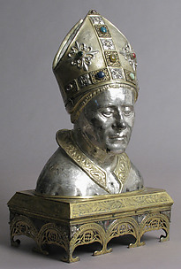 Reliquary Head of Bishop