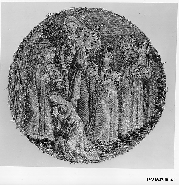 The Hermit Adrian Shows St. Catherine an Image of Christ and Baptizes Her