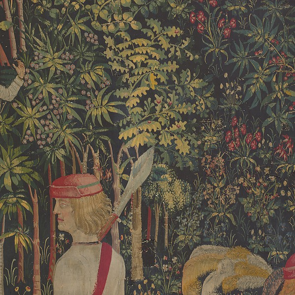 The Hunters Enter the Woods (from the Unicorn Tapestries)