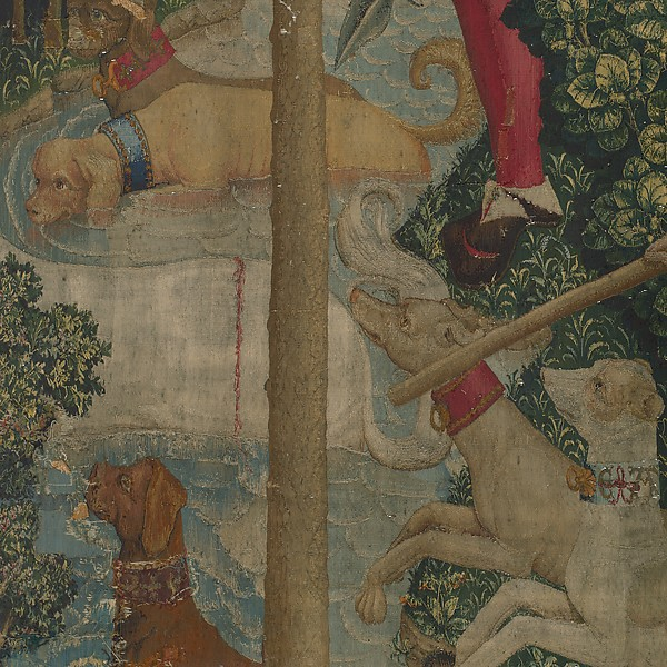 The Unicorn is Attacked (from the Unicorn Tapestries)
