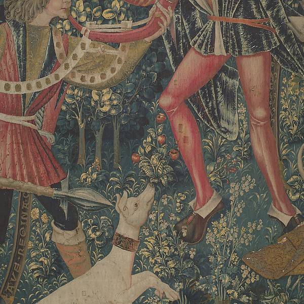 The Unicorn Defends Itself (from the Unicorn Tapestries)