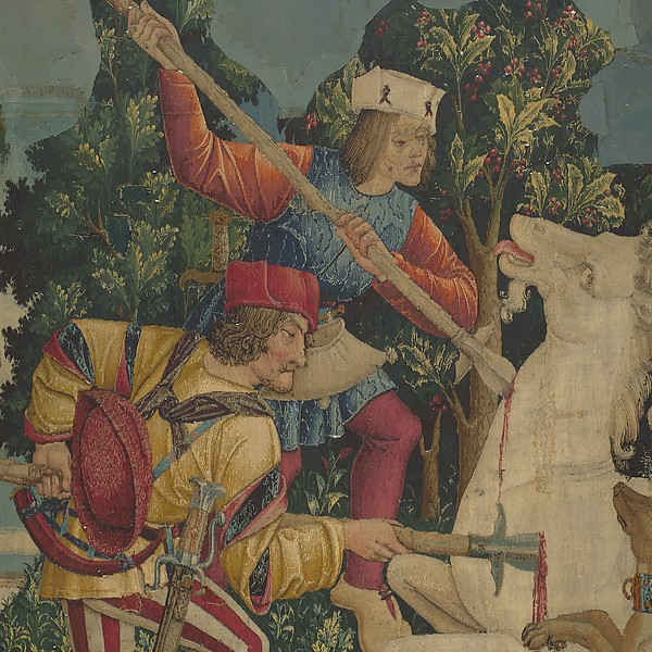 The Unicorn is Killed and Brought to the Castle (from the Unicorn Tapestries)