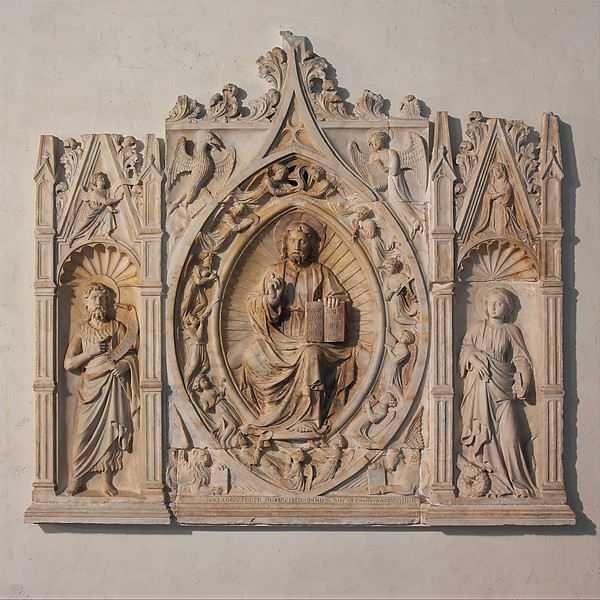 Altarpiece with Christ, Saint John the Baptist, and Saint Margaret