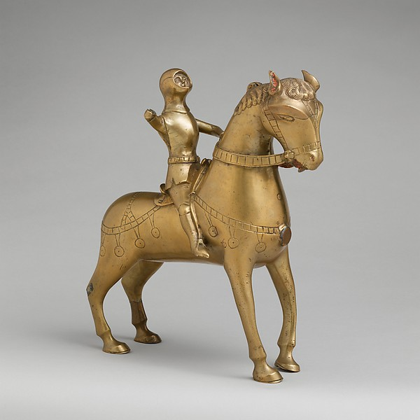 Aquamanile in the form of a Mounted Man-at-Arms