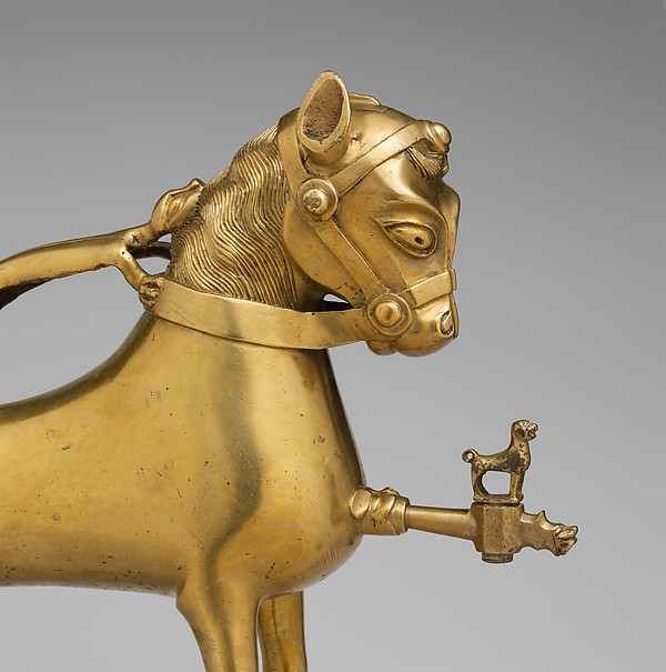Aquamanile in the shape of a Horse