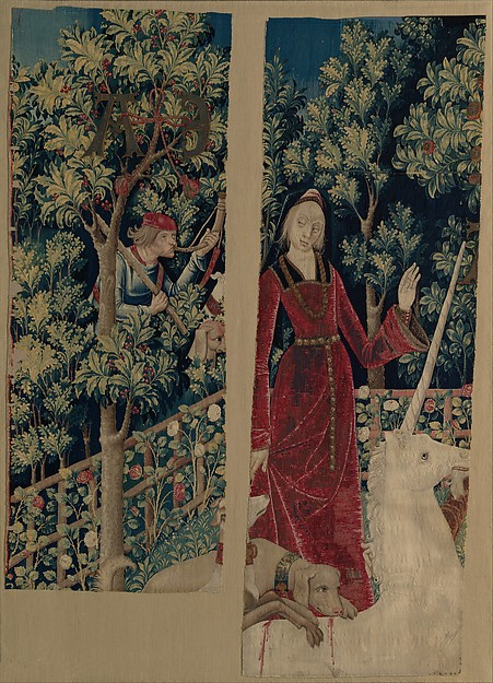 The Mystic Capture of the Unicorn (from the Unicorn Tapestries)