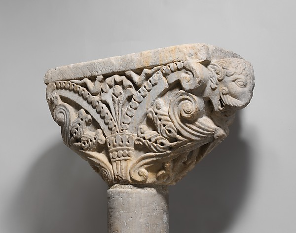Wedge-shaped Capital