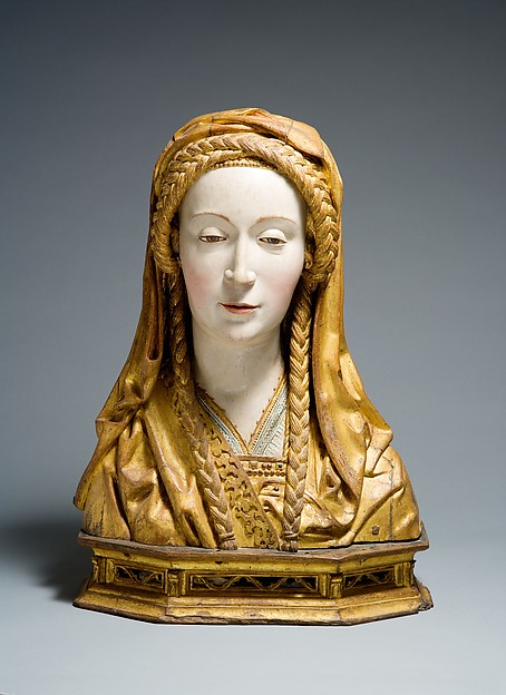 Reliquary Bust of a Female Saint