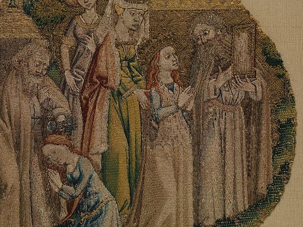 Roundel, Legend of Saint Catherine of Alexandria
