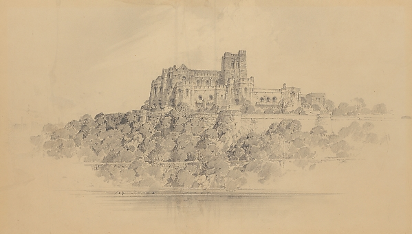 Preliminary Design for The Cloisters - View of the West Elevation