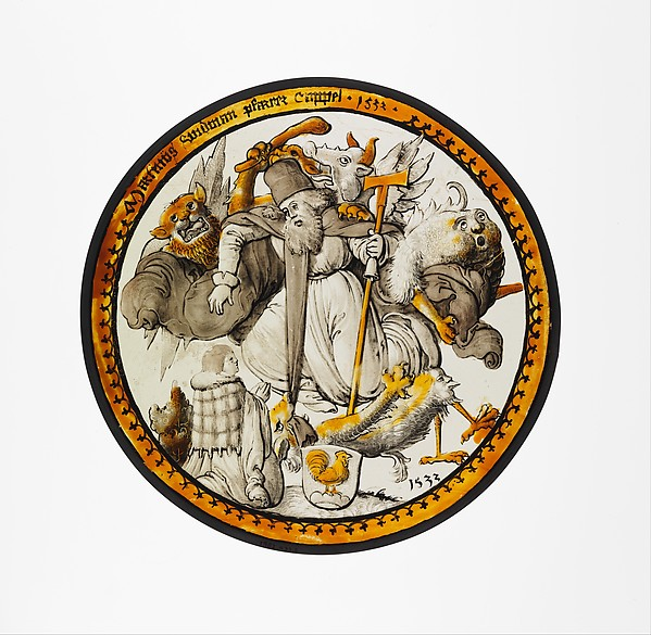 Roundel with the Temptation of Saint Anthony