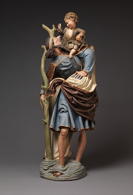 Saint Christopher Carrying Christ