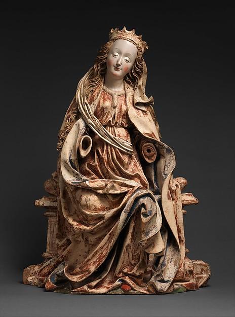 Enthroned Virgin