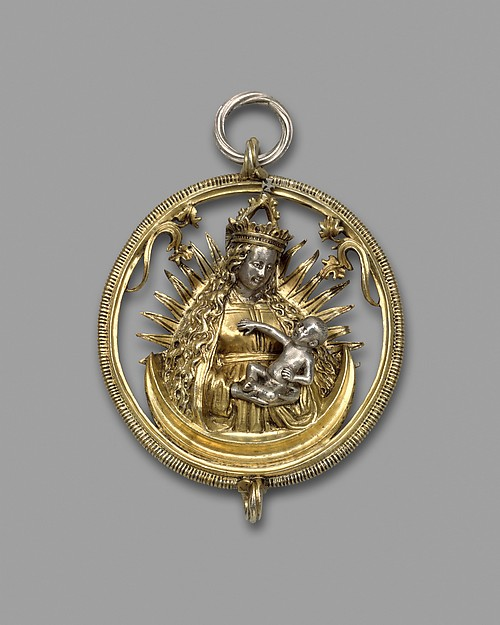 Pendant with Virgin and Child