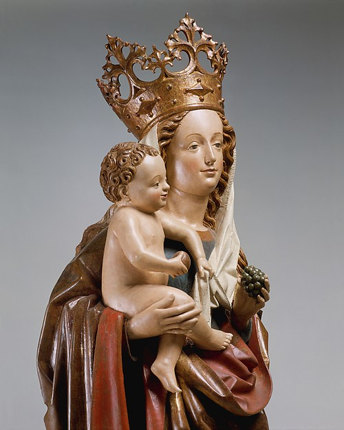 Virgin and Child on a Crescent Moon