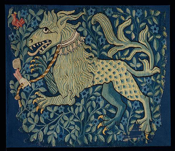 Fragment of a Tapestry or Wall Hanging