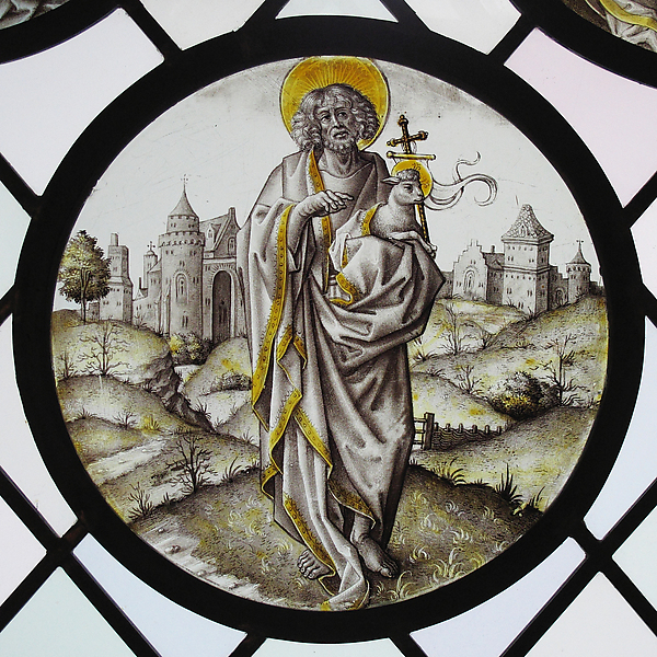 Roundel with Saint John The Baptist
