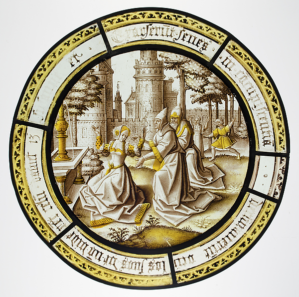 Roundel with Susannah and The Elders