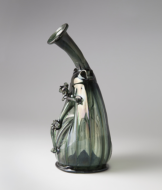 Pilgrim Flask with the Corpus Christi