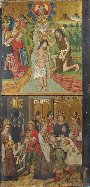 Panel from Saint John Retable