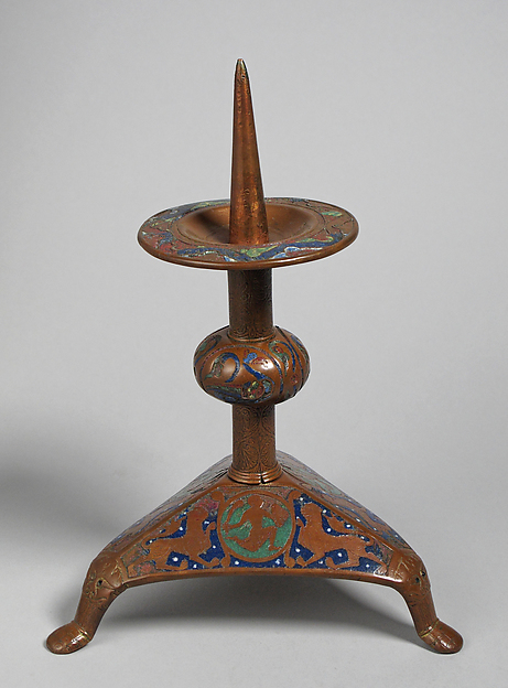Pricket Candlestick (one of a pair)