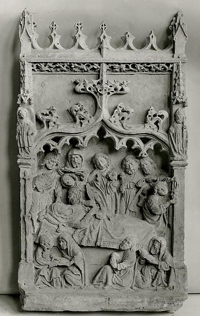 Dormition of the Virgin Relief