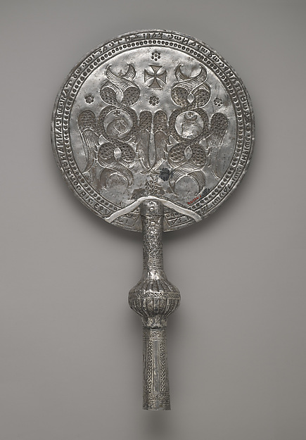 Pair of Liturgical Fans (Rhipidia)