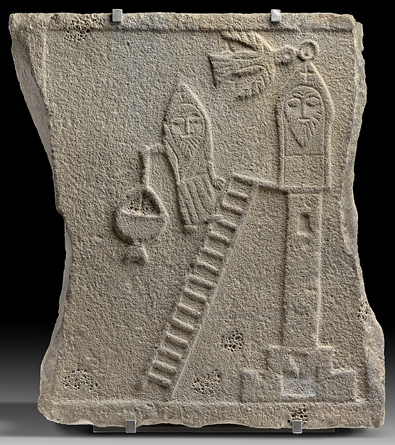 Relief of a Stylite Saint