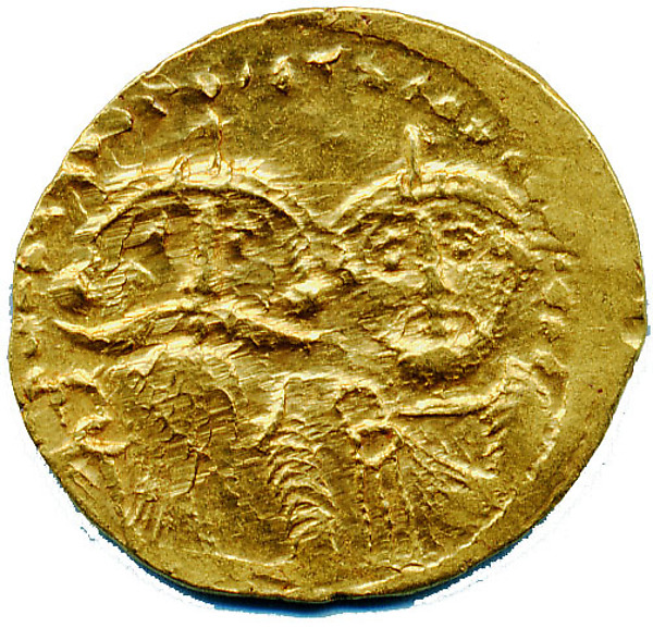 Imitative Solidus of Byzantine Type