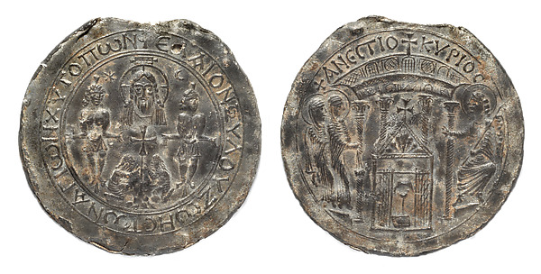 Ampulla with Scenes of the Crucifixion and the Women at the Tomb