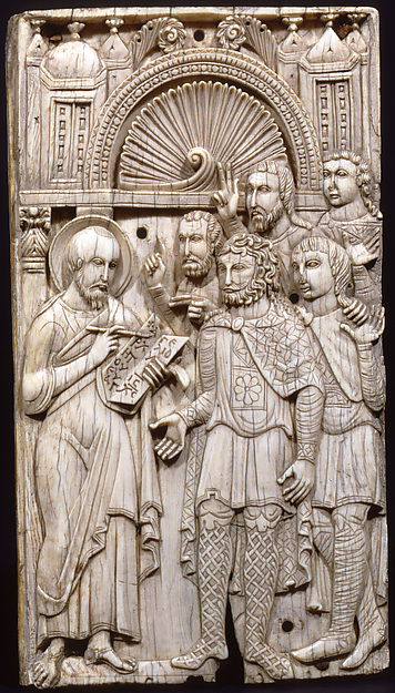 Ivories of the So-Called Grado Chair: Saint Mark Preaching