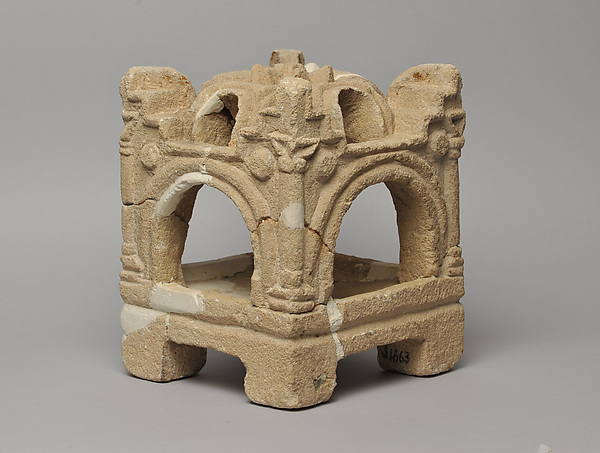 Censer with Architectural Elements