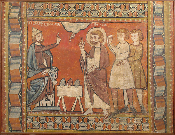 Fresco with Miracle of the Jewels