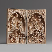 Diptych with the Coronation of the Virgin and the Last Judgment