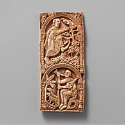 Plaque with Saint Aemilian
