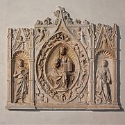 Altarpiece with Christ, Saint John the Baptist, and Saint Margaret