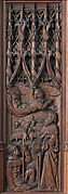 Panel with an Angel Appearing to Joachim