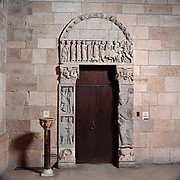Portal from the Church of San Leonardo al Frigido