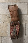 Torso of Christ from a Deposition