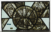 Grisalle Glass Panel