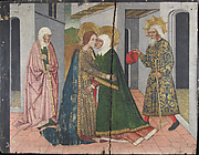 The Visitation Panel from Saint John Retable