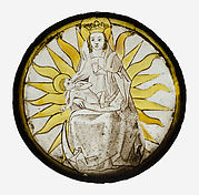 Roundel with the Virgin and Child