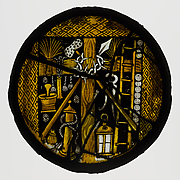 Roundel with Instruments of the Passion