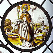Roundel with Saint Lambrecht of Maastricht