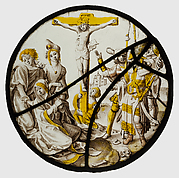Roundel with the Crucifixion